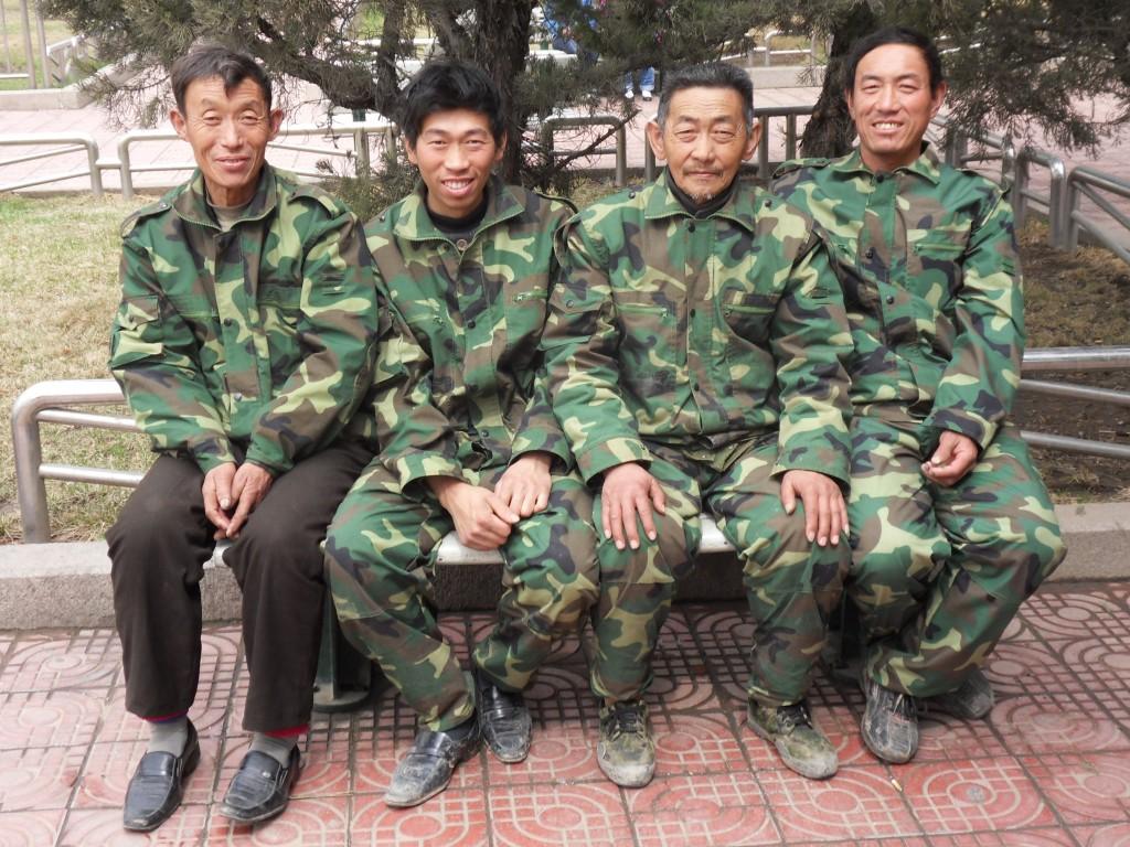 China 2010. Peking, Platz des Himmlischen Friedens.