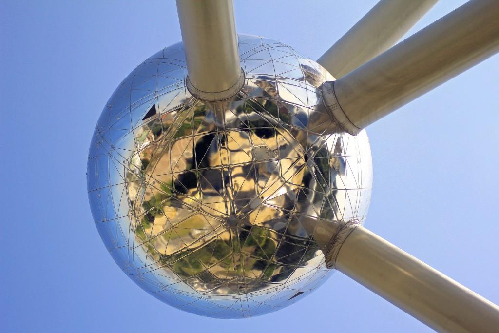 Belgien 2013. Brüssel, Atomium.
