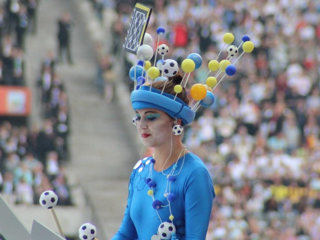 Deutschland 2011. Olympiastadio Berlin. Eröffnung Frauenfußball-Weltmeisterschaft.
