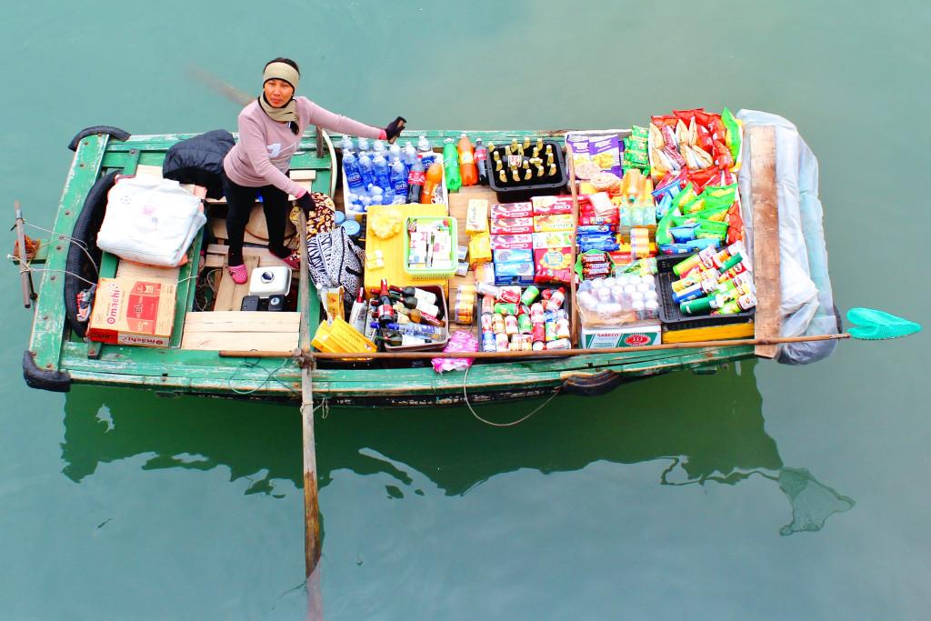Vietnam 2012. Halong-Bucht.