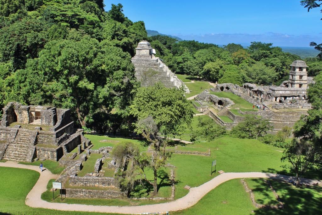 Mexiko 2014. Maya-Stadt Palenque.