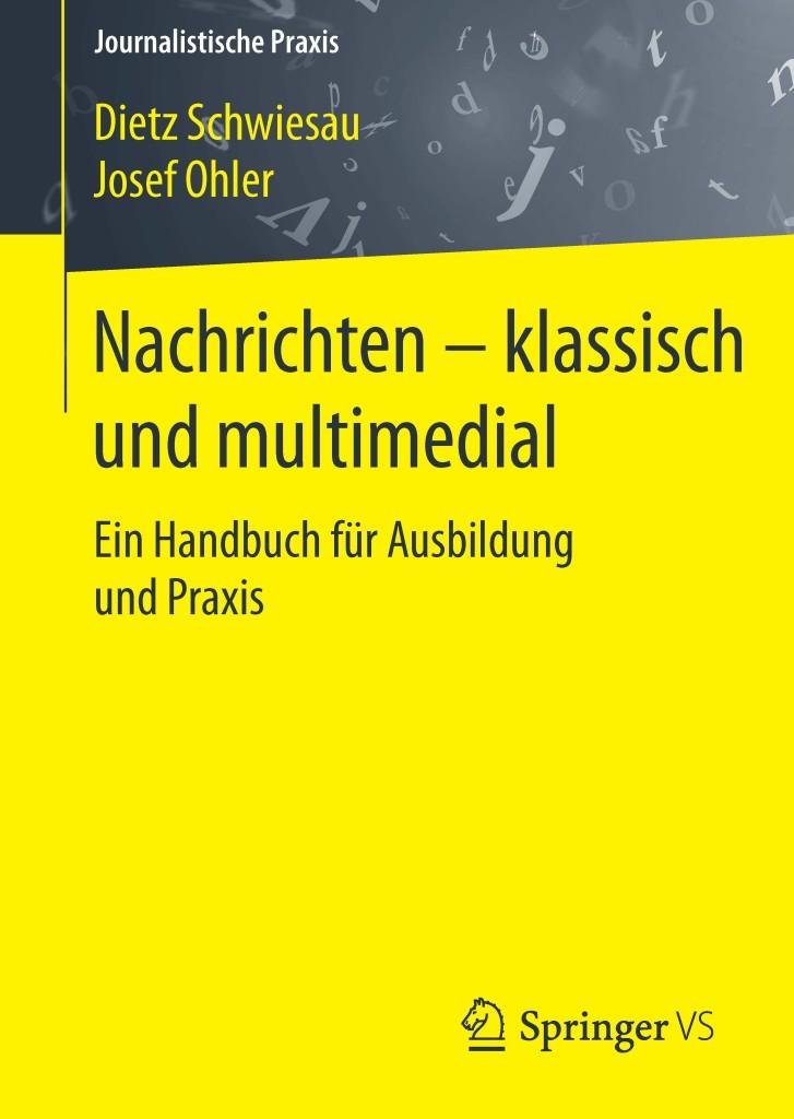 """Cover des Buches """"Nachrichten – klassisch und multimedial"""""""