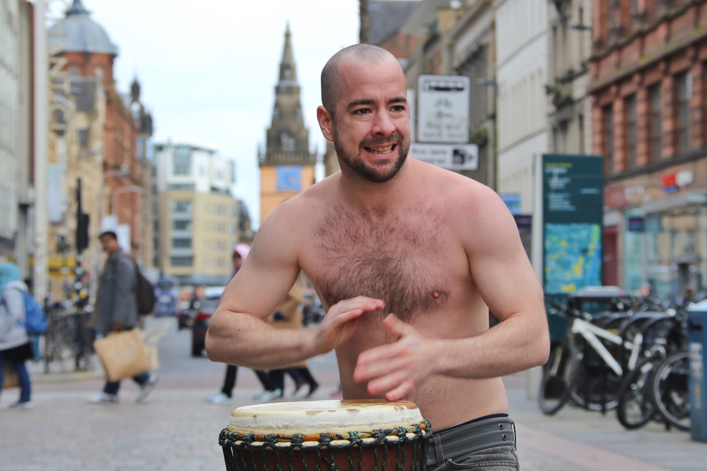 Schottland 2016. Glasgow.