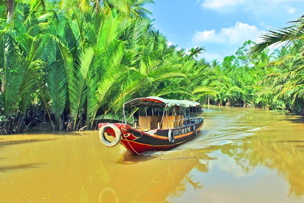 Vietnam 2012. Mekongdelta.
