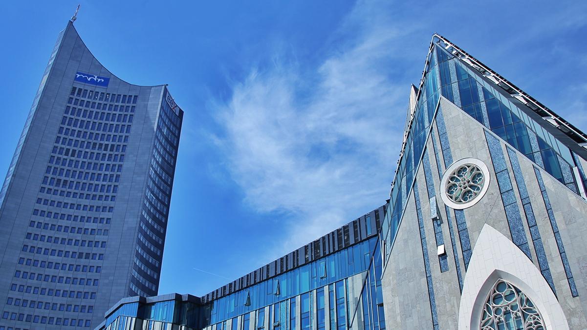 Die Uni in Leipzig
